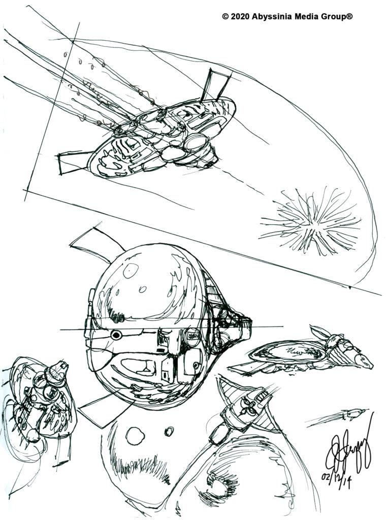 O.S.E.I. Ship Mode Concept